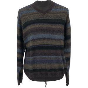 Tricots St Raphael V-Neck Sweater Mohair Blend